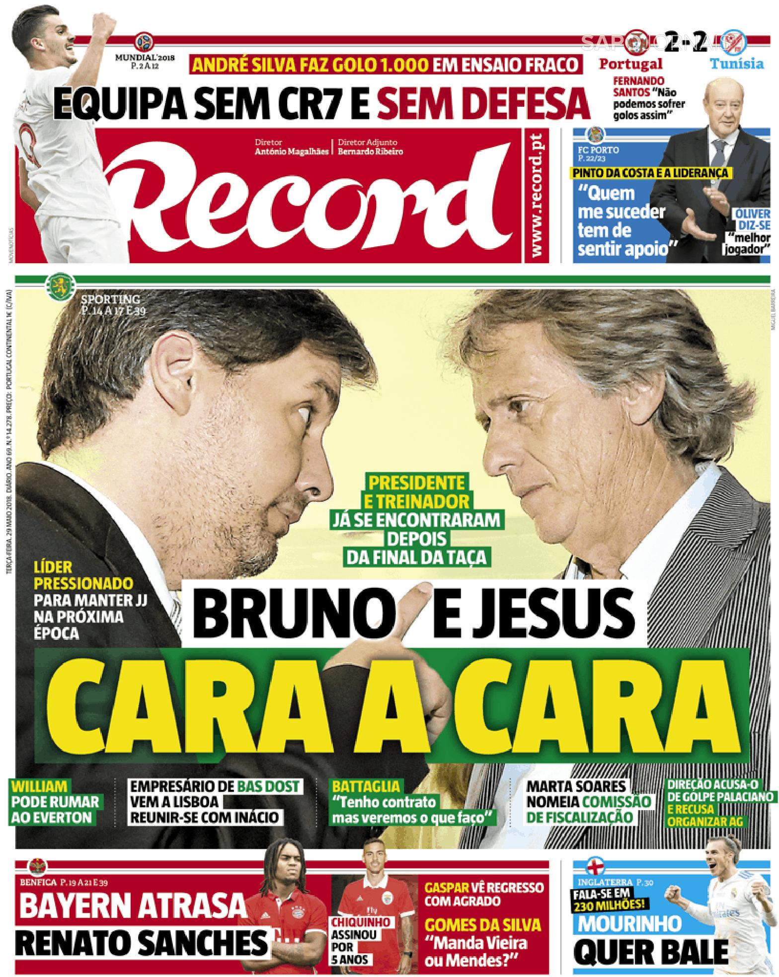 todos os jornais portugueses