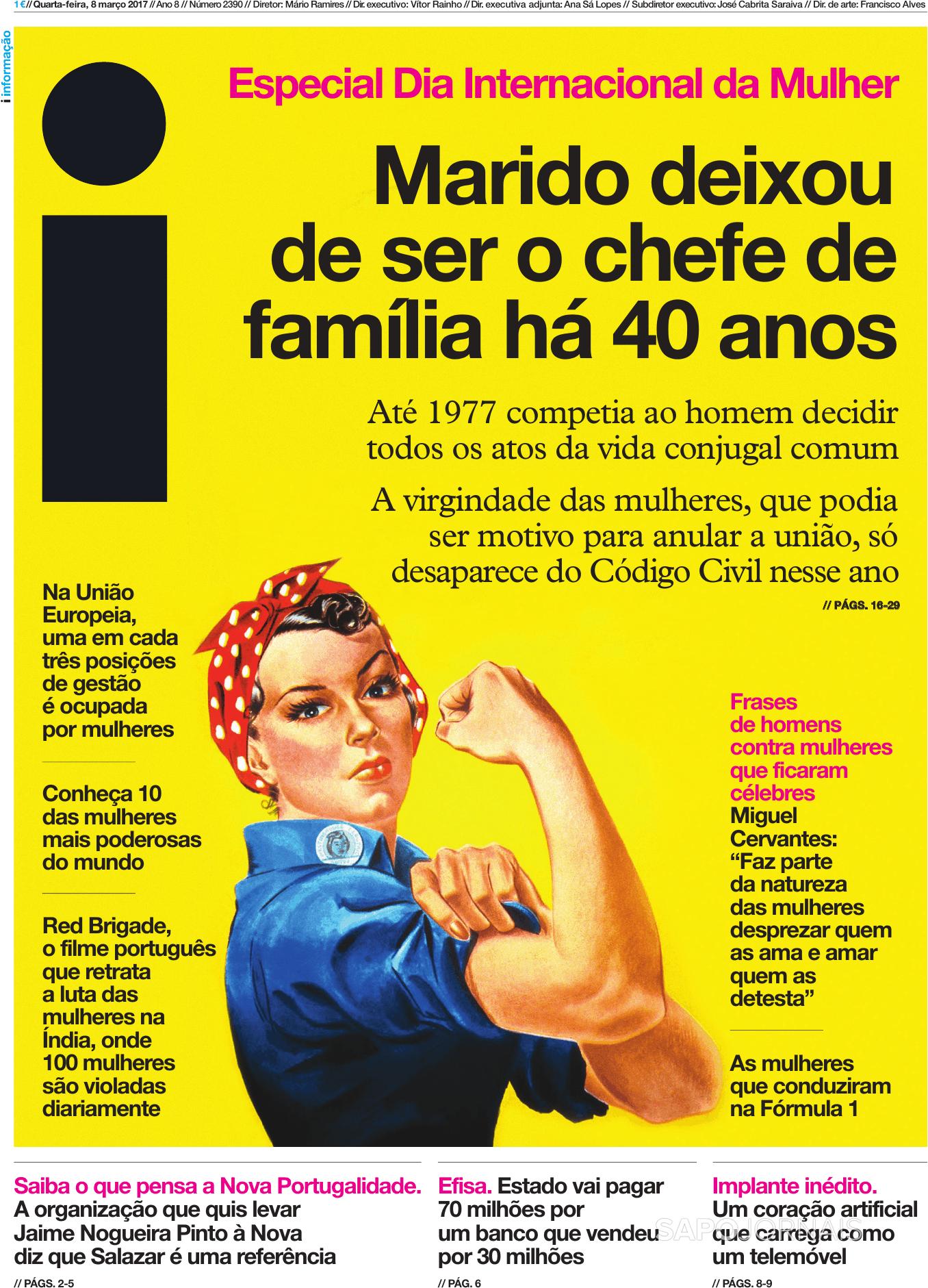 I 8 Mar 2017 Jornais E Revistas Sapo 24