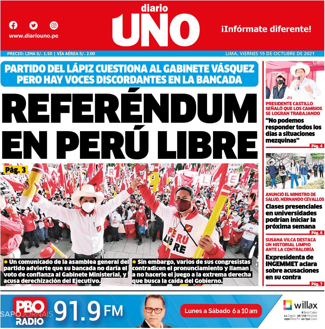 Diario UNO - Lima Perú
